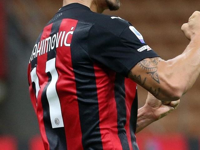 Milan Ibrahimovic e i ragazzini