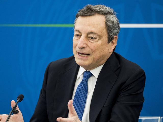 """Draghi alle regioni: """"Ridare speranza al Paese pensando a riprogrammare le riaperture"""""""