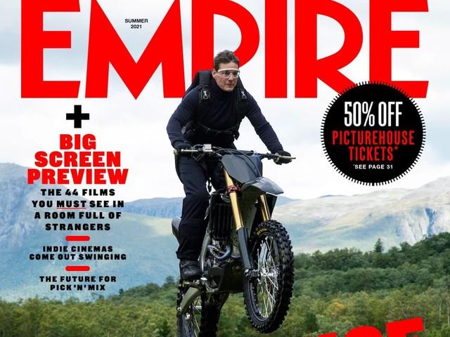 Mission: Impossible 7, Tom Cruise sulla copertina di Empire