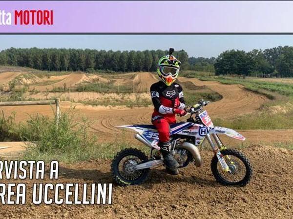 """Uccellini, il baby talento del Motocross: """"La sfida? Sorpassare al primo giro"""""""