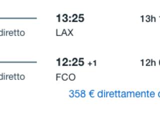 Viaggio in California! Voli Alitalia DIRETTI a/r per Los Angeles da soli 335€!