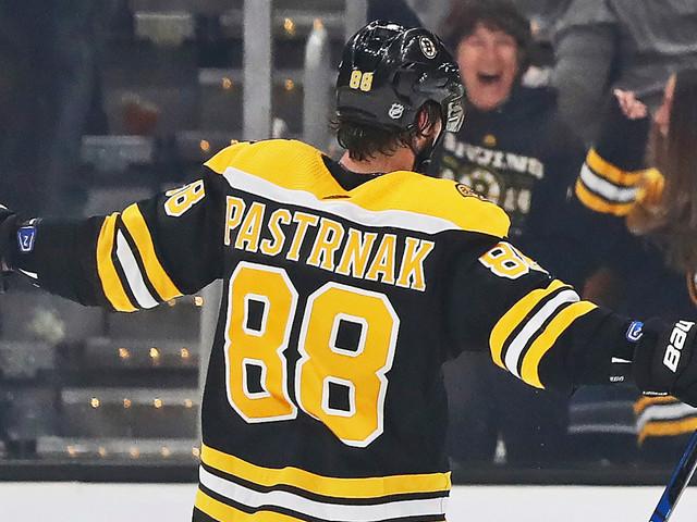 David Pastrnak Scores All Four Bruins Goals In Win Over Ducks