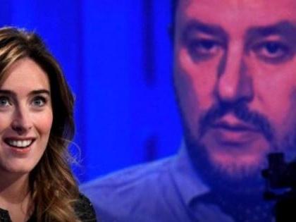 Battibecco Boschi-Salvini sui social E il popolo leghista scatena la gogna