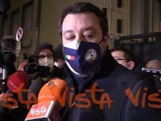 """Crisi di governo, Salvini: """"C'è disagio in qualcuno di M5S e Pd"""""""
