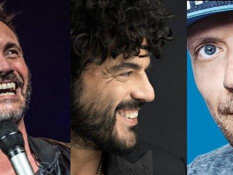 Max Pezzali, Nek e Francesco Renga in tour insieme nel 2018: date e biglietti in prevendita su TicketOne