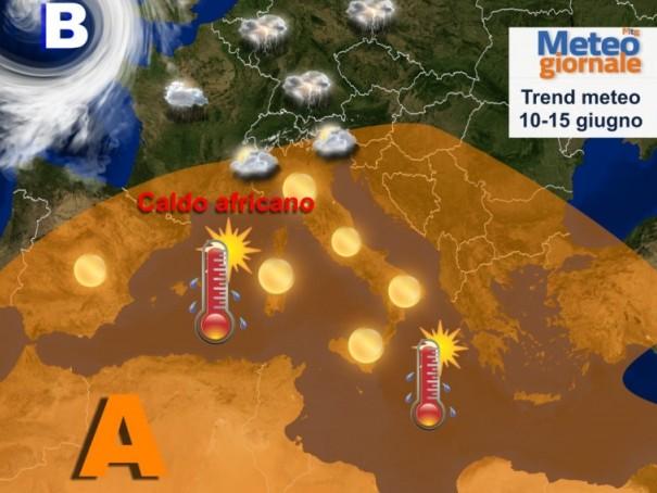 Novità METEO eclatanti: cappa africana accenderà l'estate
