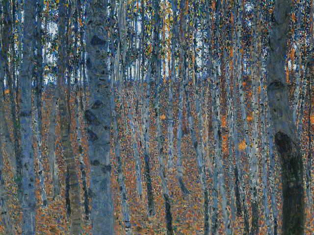 Faggeto I (Beech Forest I), quadro di Gustav Klimt