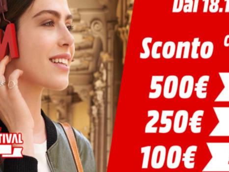 Sconto subito Mediaworld fino a 500 euro: quanto si risparmia su Huawei P30 Lite, Samsung Galaxy S10 e iPhone XR