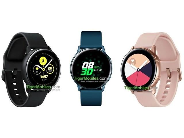 Samsung Galaxy Watch Active avrà un display da 1,1 pollici e niente ghiera rotante