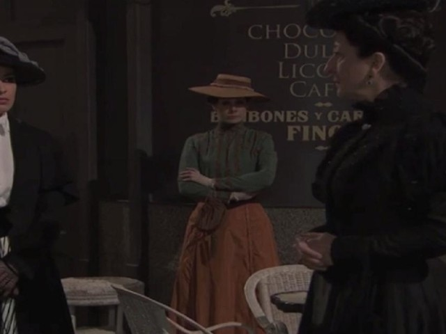 Una Vita, trame: Leonor affronta Cristina, cade la maschera della madre di Blanca