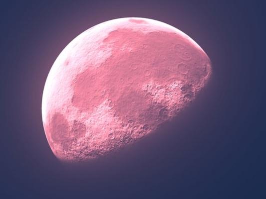 La Luna Rosa nei cieli di aprile