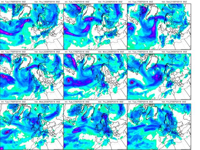 Le Previsioni Meteo dell'Aeronautica Militare per i prossimi giorni: in arrivo maltempo e crollo termico