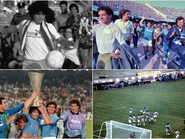 Maradona e il Napoli, una storia piena di successi