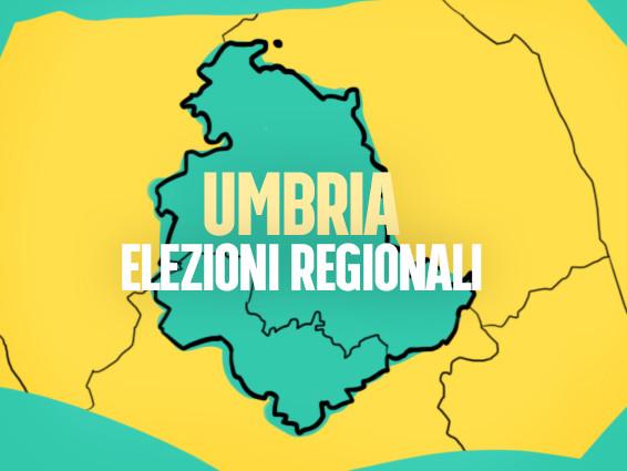 I candidati alle elezioni regionali in Umbria: nomi, partiti e liste