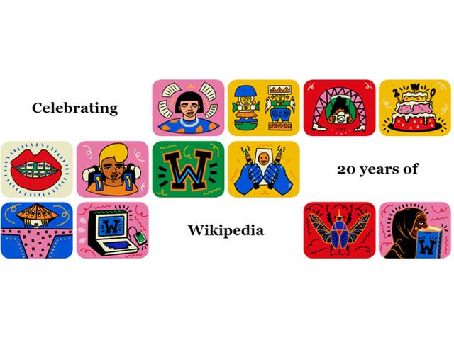 Buon compleanno Wikipedia: un sito internet ne celebra i 20 anni