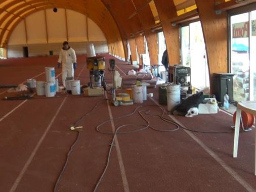 Palestrina indoor quasi pronta: dopo la corsa contro il tempo, domenica l'inaugurazione