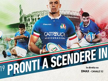Per la prima volta in vendita nei Tourist Infopoint di Roma Capitale i biglietti del Torneo di Rugby Guinness Sei Nazioni 2019