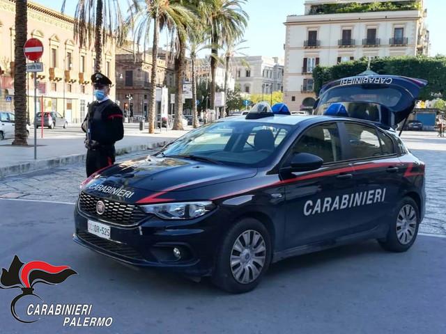 Covid-19, maxi controlli dei Carabinieri nel Palermitano
