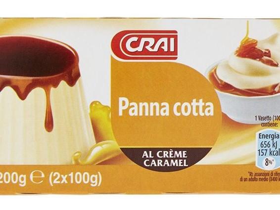 "Rischio microbiologico, Crai ritira la panna cotta al creme caramel: ""Non consumatela"""