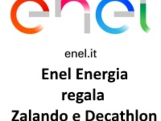 Enel Energia Regala Zalando e Decathlon ai primi 100