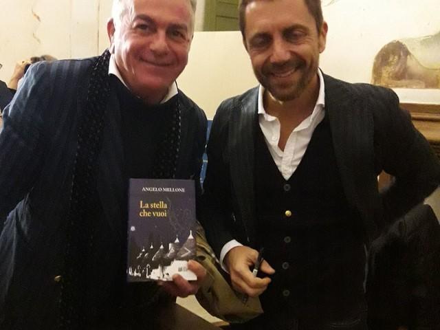 """Valle d'Itria, luogo fatato: """"La stella che vuoi"""", il racconto fantasy di Angelo Mellone Libro presentato a Martina Franca"""