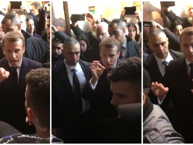 """Gerusalemme, Macron si infuria con la polizia israeliana: """"Fuori di qui"""". Tensione con gli agenti"""