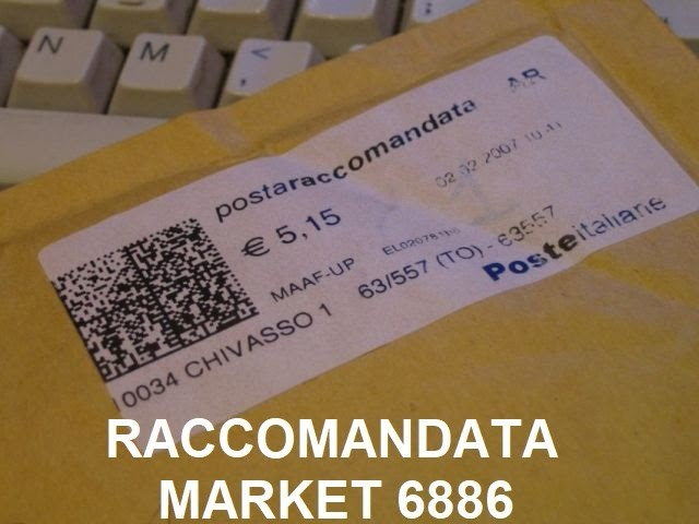Raccomandata market codice 6886 - chi ti cerca?