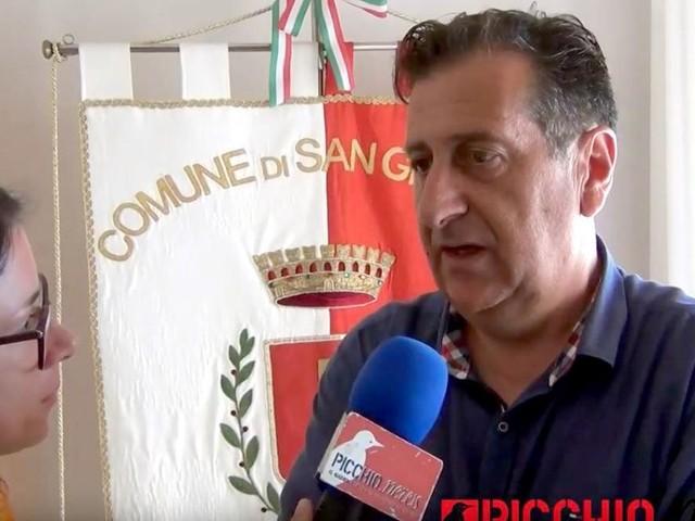 """""""2016-2019, Tre anni dopo"""". San Ginesio, Ciabocco: """"Dobbiamo ridare speranza ai giovani e un sorriso agli anziani"""" (FOTO E VIDEO)"""