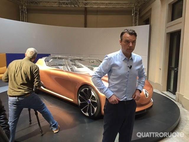"""Van Den Acker (Renault) - """"Le auto del futuro punteranno sulla sicurezza attiva"""""""