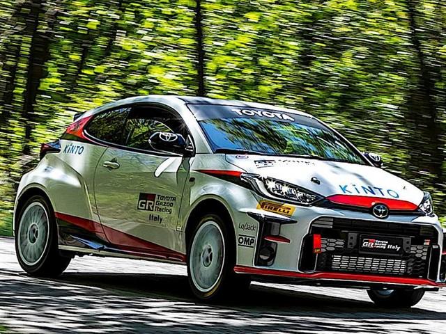 Toyota - Al via a Roma la GR Yaris Rally Cup