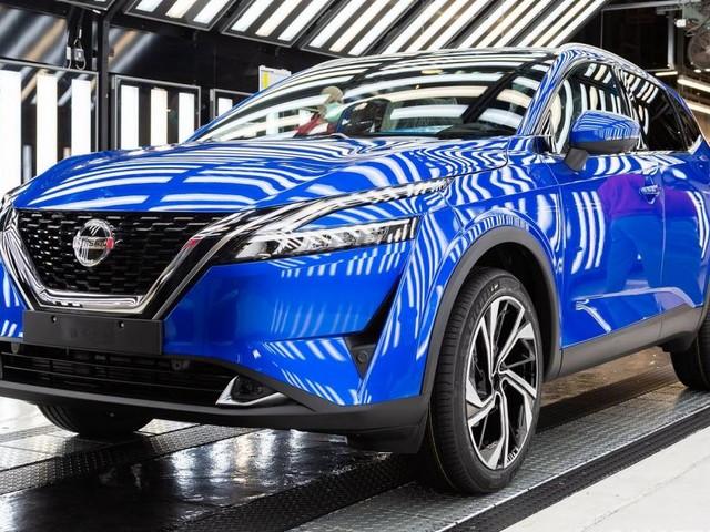 Nuova Nissan Qashqai - Avviata la produzione a Sunderland