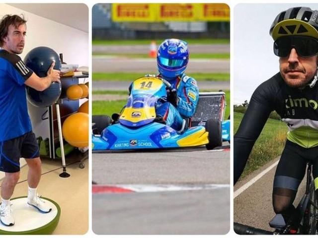 """Alonso tra bici, kart e dieta, così si è ripreso la F1: i segreti del suo """"motore"""""""