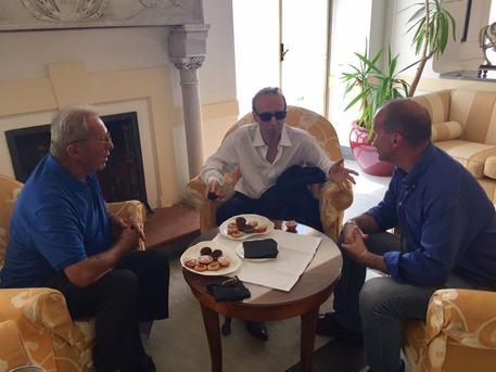Forte dei Marmi: Roberto Benigni incontra sopravvissuto strage Sant'Anna di Stazzema