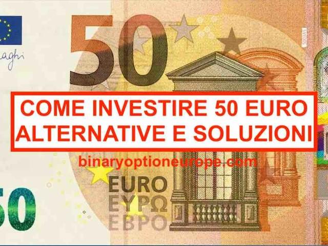Come investire 50 euro al mese [e guadagnarne di più nel 2021]