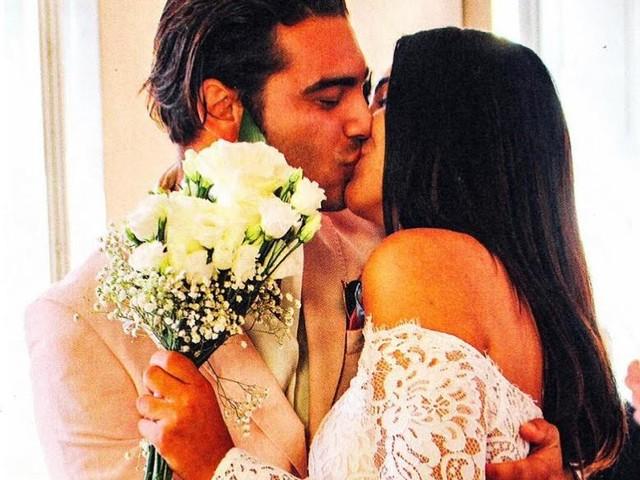 'Gf Vip 3', tutte le foto del matrimonio 'segreto' di Stefano Sala e Dasha Dereviankina!