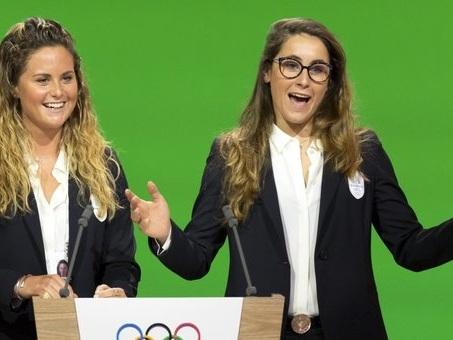 Olimpiadi, «Sognare insieme»: così Sofia e Michela seducono Losanna