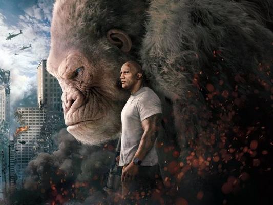 Una video intervista esclusiva ai protagonisti di Rampage: Furia Animale sul confronto fra George e Donkey Kong - Video