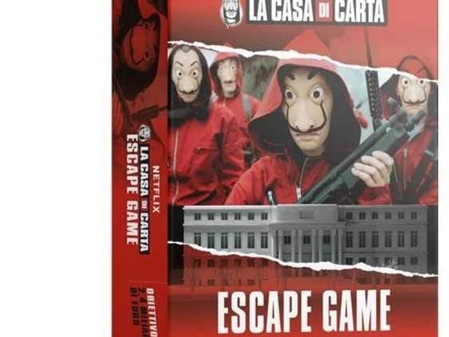 [recensione ] La casa di Carta Escape Game