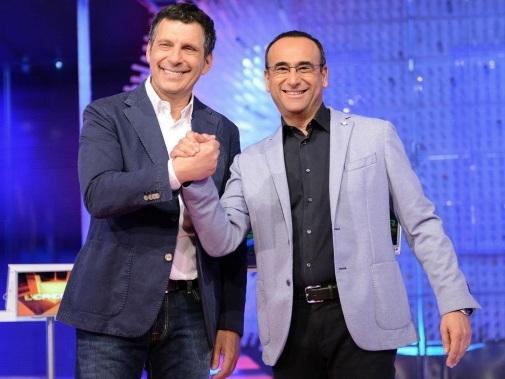 Fabrizio Frizzi torna a L'Eredità oggi 15 dicembre: puntata speciale con Carlo Conti