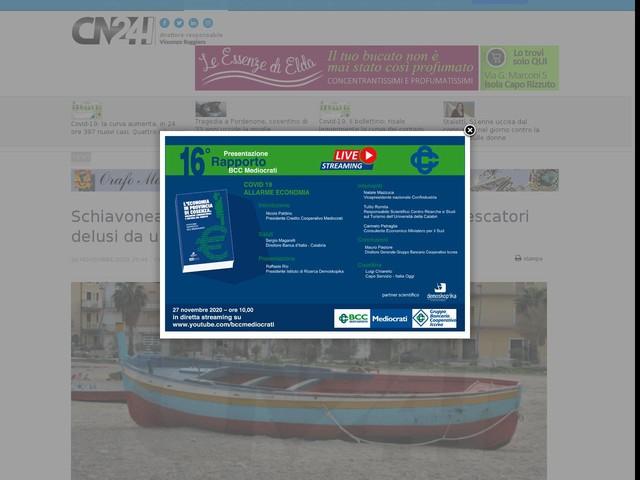 """Schiavonea, Martilotti: """"Tanti cittadini e piccoli pescatori delusi da una fusione mai decollata"""""""