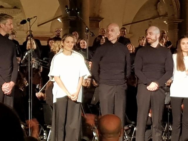 La Giovanna D'Arco al Rogo con Marion Cotillard chiude il festival di Spoleto
