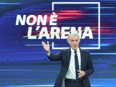 Stasera in tv, Non è l'Arena: ospiti e anticipazioni del 13 ottobre