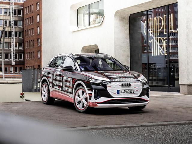 Audi Q4 E-Tron, nativa elettrica