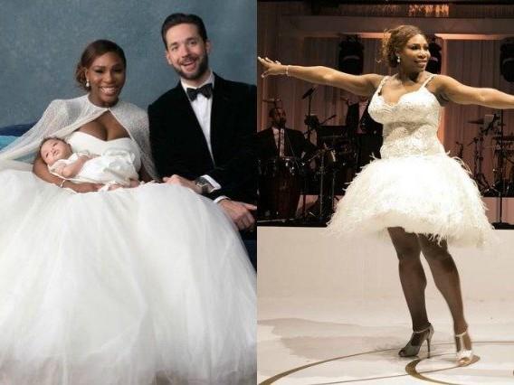 Due abiti e gioielli da 3,5 milioni: Serena Williams sposa di lusso per le nozze sfarzose