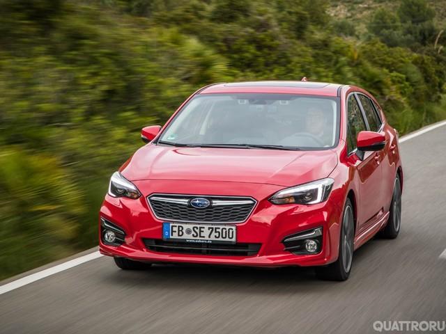 Nuova Subaru Impreza - Mette la quinta, ma è più tranquilla