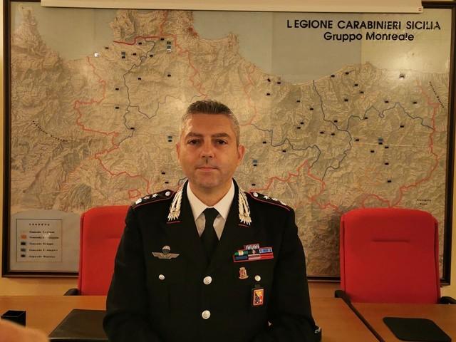 """Il nuovo comandante del Gruppo di Monreale: """"Sarà una grande esperienza professionale"""""""