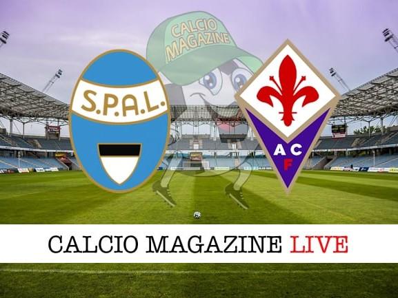 SPAL – Fiorentina 0-0: cronaca diretta live, risultato in tempo reale