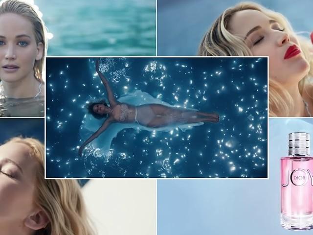 Le modelle della pubblicità: l'attrice bionda del profumo JOY by Dior