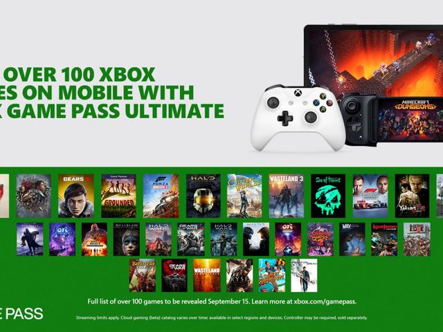 Project xCloud in arrivo su Xbox Game Pass Ultimate senza costi aggiuntivi: si potrà accedere a più di 100 titoli da mobile [AGG. x1 – Dal 15 settembre]
