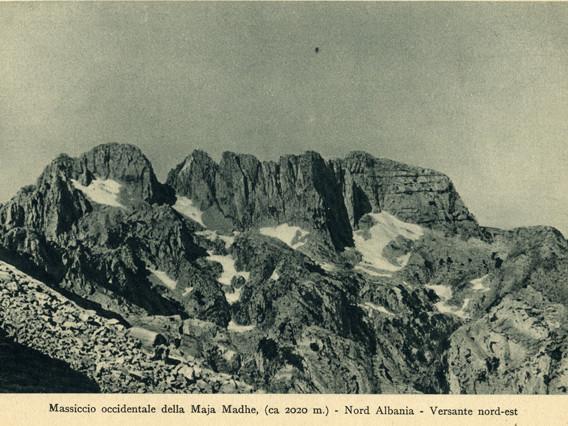 """""""Montagne d'Albania"""" di Piero Ghiglione: una guida alpinistica dell'Albania degli anni '40"""